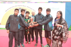 9TH BAL BHARATI SPORTS MEET - 3RD POSITION ATHLETICS