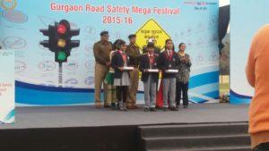 gurgaon-roadsafety-mega-festival-2015-2nd-runnerup